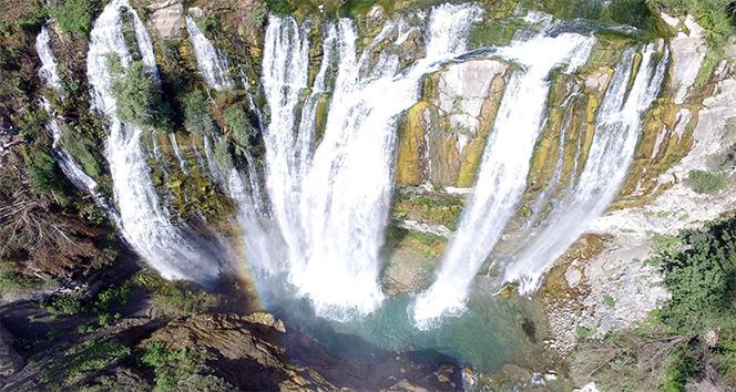 Türkiyenin 4K görüntü kalitesindeki tanıtım videosu drone ile çekildi