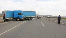 Bingölde trafik kazası: 1 ölü