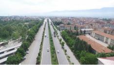 """Boluda 9,5 kilometrelik """"Yeşil Yol"""" projesi"""