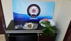 Erzincanda uyuşturucu operasyonu
