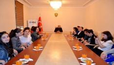 Gürcistanlı öğrenciler, Erzincanda