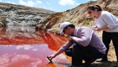 Kızıl gölete bilimsel inceleme