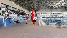 TSSF Paletli Yüzme Bireysel Türkiye Şampiyonası başladı