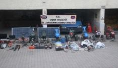 Uşakta köylerde hırsızlık yapan 3 kişi yakalandı