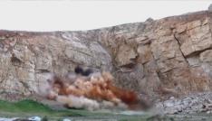 Mardinde ele geçirilen patlayıcı imha edildi