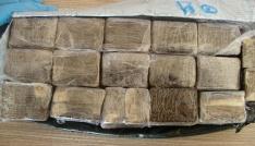Hollandadan Karamana uyuşturucu getirdi