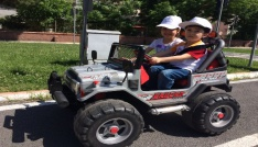 Dulkadiroğlu Belediyesinden miniklere trafik eğitimi