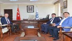 Bartın Milletvekili Tunç, Rektör Uzunu ziyaret etti