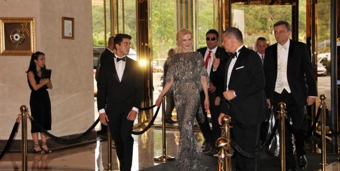 Hollywood yıldızı Nicole Kidman Bodrum'da