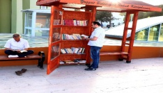 Yozgattaki Sokak Kütüphanesine yoğun ilgi