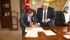 Kars Belediye Başkanlığı ile KOSGEB İl Müdürlüğü arasında protokol imzalandı