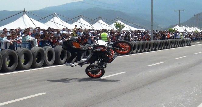 Osmaniyede Motosiklet Festivali