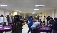Kızıltepede kumar çetesine operasyon: 33 gözaltı