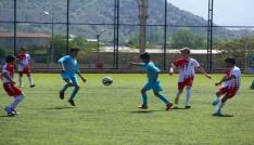 Küçükler futbol müsabakaları tamamlandı