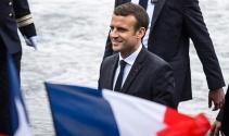 Fransa Cumhurbaşkanı Macron, NATO Karargah binasına geldi