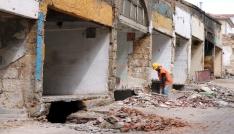Yozgatın tek tarihi çarşısında çalışmalar sürüyor