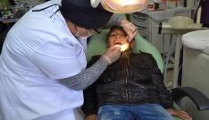 Yozgatta Özel Eğitimli çocuklara diş taraması yapıldı