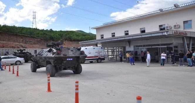 Tuncelide çatışma, 1 asker hafif yaralandı