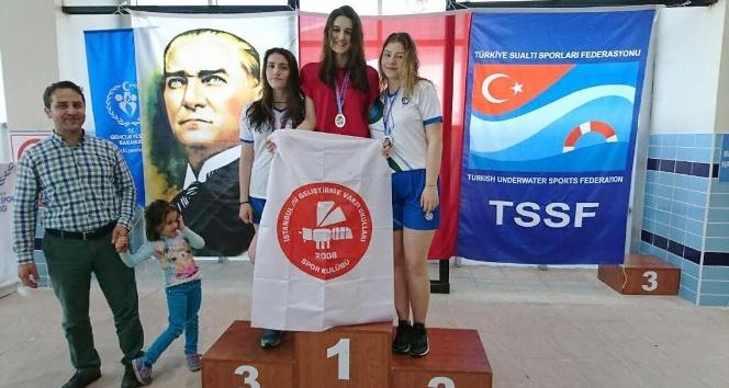 Paletli Yüzme Şampiyonası tamamlandı