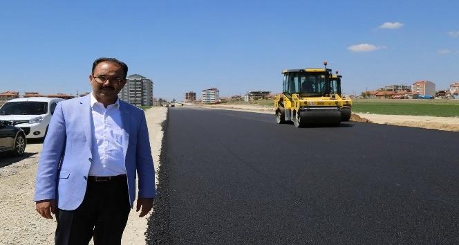 Uşakta son beş ayda 63 bin ton asfalt döküldü