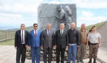 Büyük Taarruz'un başladığı Kocatepe'ye şanına yakışır şehitlik anıtı yapıldı