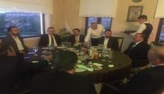 Vali Aktaş, GÖRBİR ile yemekte bir araya geldi
