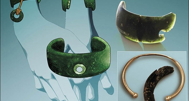 Sibiryada yapılan kazıda 40 bin yıllık bilezik bulundu