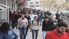 Hakkaride genç nüfus rekoru