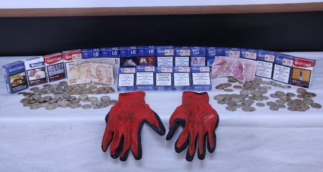 Cezaevinden kaçıp 6 iş yeri soyan hırsız suçüstü yakalandı