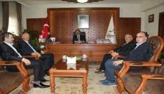 PÜİS Şube Başkanı Ertaştan Vali Aktaşa ziyaret