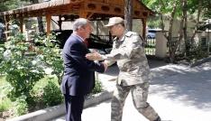 Kara Kuvvetleri Komutanı Çolak Burdurda