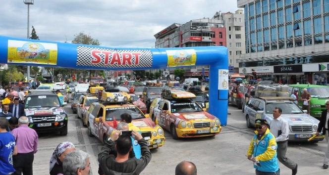 Allgau-Orient Rally Uşakta