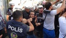 KESKin izinsiz basın açıklamasına müdahale: 30 gözaltı