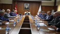 KAP-HİB toplantısı Vali Aktaş başkanlığında yapıldı
