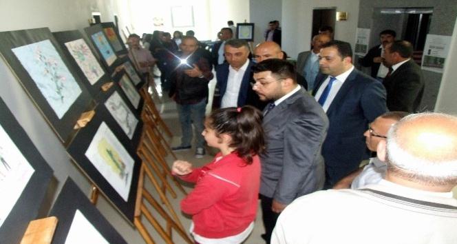 Yerköyde 15 Temmuz Milli İrade konulu resim sergisi açıldı