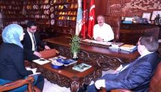 UCLG-MEWA genel sekreteri Duman, Ünveri ziyaret etti