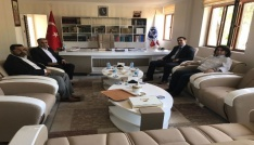 Başkan Gülenç, ziyaretlerini sürdürüyor