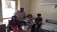 Afgan çocukların tedavileri başladı