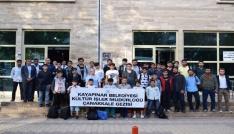 Kayapınarda 40 öğrenci Çanakkale gezisine gitti