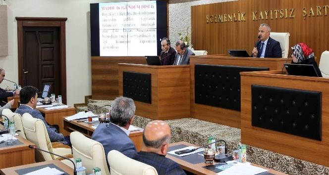 Başkan Sekmen'den İbrahim Erkal'e vefa