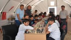 Samsatta satranç turnuvası düzenlendi