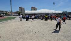 750 Sporcu Adıyamanda Bocce müsabakalarına katıldı