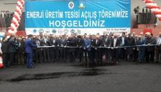 Rizede içme suyu arıtma tesisinde kurulan Enerji Santrali törenle açıldı