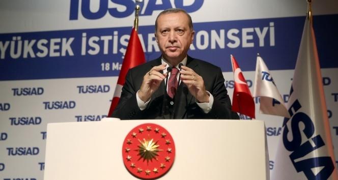 Cumhurbaşkanı Erdoğandan istihdam seferberliği yorumu