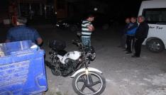 Kaza yapan motosiklet sürücüsü 200 promil alkollü çıktı