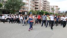 Hatayda Gençlik Yürüyüşü