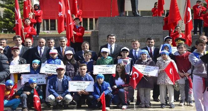 Gümüşhanede 19 Mayıs Atatürkü Anma, Gençlik ve Spor Bayramı kutlandı