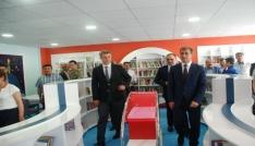 Tut ilçesine yeni nesil Z-Kütüphane yapıldı