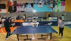 Hatayda düzenlenen masa tenisi turnuvası sona erdi