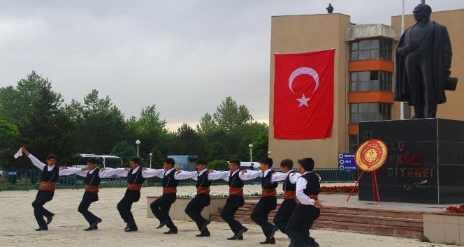 Erzincanda 19 Mayıs coşkusu